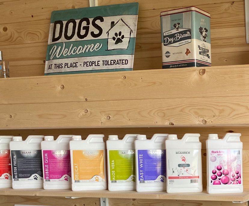 Salon de toilettage pour chiens